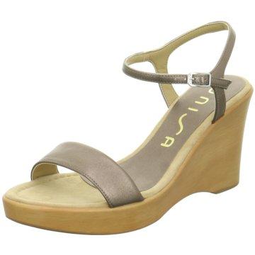 Unisa Sandalette gold