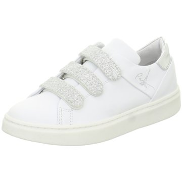 hip shoe style Sneaker Low weiß