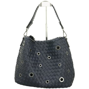 Meier Lederwaren Handtasche blau