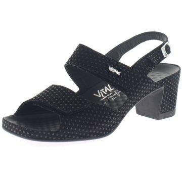 Vital Komfort Sandale schwarz