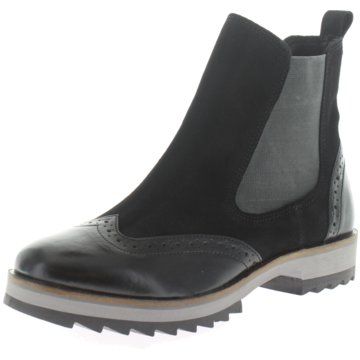 Honey & Mustard Chelsea Boot schwarz