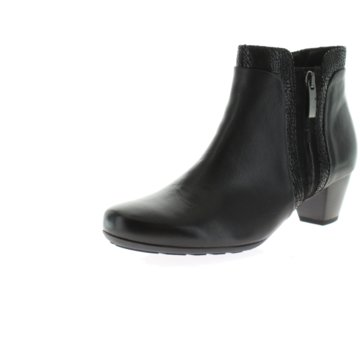 Gabor comfort Klassische Stiefelette schwarz