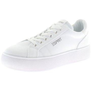 Esprit Plateau SneakerBABIKA LU weiß