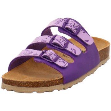 Lico Offene Schuhe lila