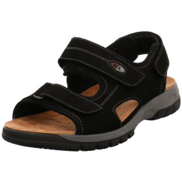 Waldläufer Sandale schwarz