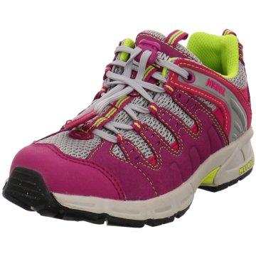 Meindl Sportlicher Schnürschuh pink