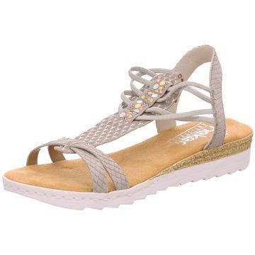 Rieker Sandale silber