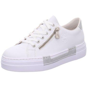 Rieker Plateau Sneaker weiß
