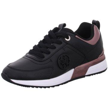Guess Sneaker Low schwarz