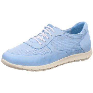 Esgano Sportlicher Schnürschuh blau