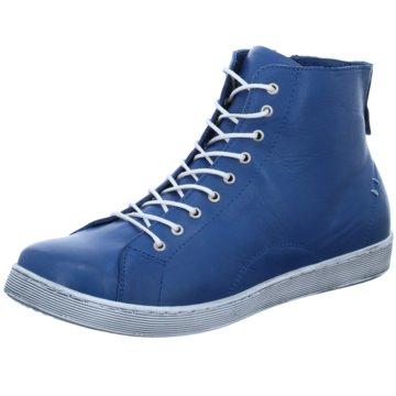 Andrea Conti Komfort Schnürschuh blau