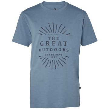 North Bend T-Shirts grau