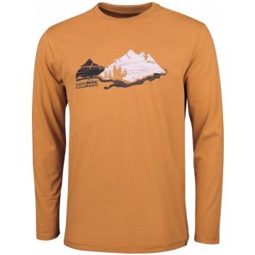 HIGH COLORADO LangarmhemdenWALLIS 5-M - 1059749 orange