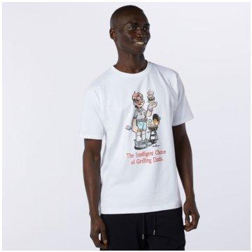 New Balance T-ShirtsNB ARTIST TEE - MT11522_WT weiß
