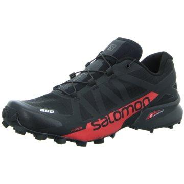 Salomon Trailrunning schwarz
