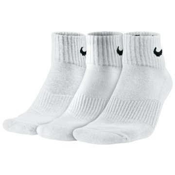 Nike Hohe SockenEveryday Cotton Cushioned Ankle Socks 3PPK weiß