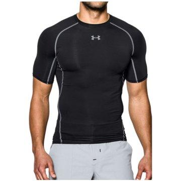 Under Armour T-Shirts HEATGEAR® ARMOUR KOMPRESSIONS-SHIRT, KURZÄRMLIG - 1257468 schwarz