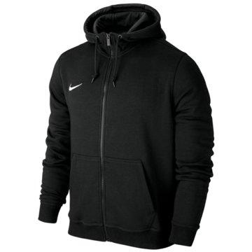 Nike FleecejackenTeam Club FZ Hoody schwarz
