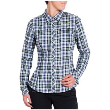 VAUDE LangarmblusenNeshan LS Shirt III Women blau
