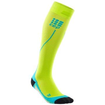 CEP KniestrümpfeProgressive+ Run Socks 2.0 grün