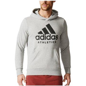 adidas SweaterSport ID Branded Sport Hoodie grau