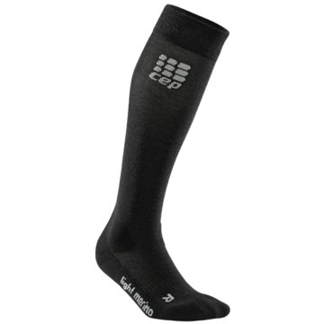 CEP KniestrümpfeProgressive+ Outdoor Light Merino Socks Women schwarz