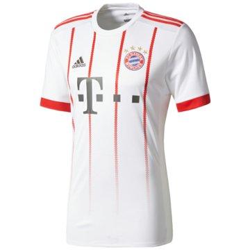 adidas FußballtrikotsFC Bayern UCL Jersey 2017/2018 Junior weiß