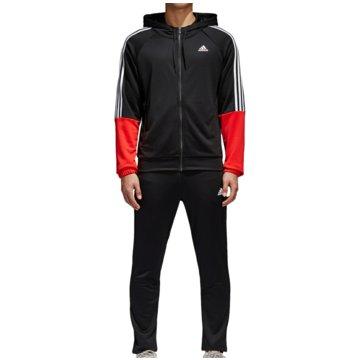 adidas TrainingsanzügeRe-Focus Tracksuit schwarz
