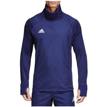 adidas SweaterCON18 WRM TOP - CV8973 blau