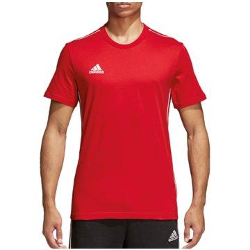 adidas Fan-T-ShirtsCORE18 TEE - CV3982 rot