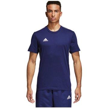 adidas Fan-T-ShirtsCORE18 TEE - CV3981 blau