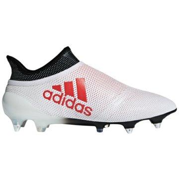 adidas Stollen-SohleX 17+ Purespeed SG weiß