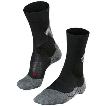 Falke Hohe Socken4 GRIP UNISEX SOCKEN - 16086 schwarz
