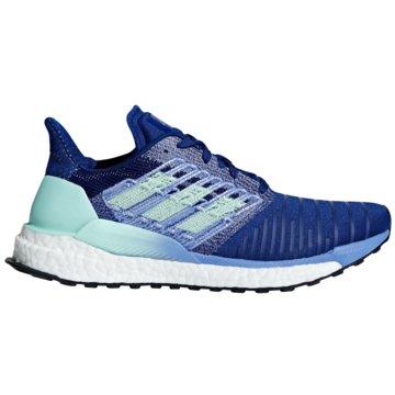 adidas RunningSolar Boost Women blau