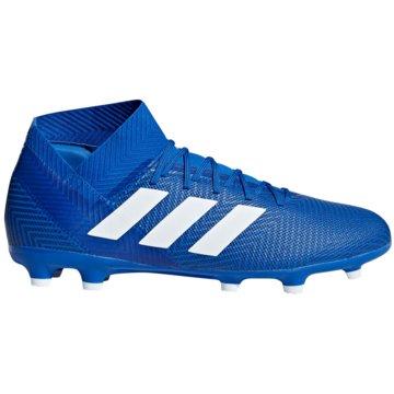adidas Nocken-SohleNemeziz 18.3 FG blau