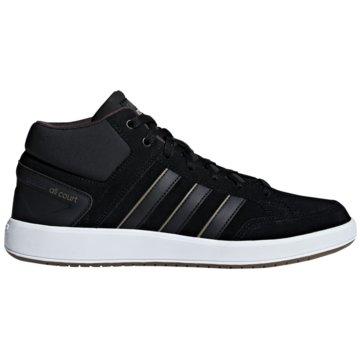 adidas IndoorCloudfoam All Court Mid schwarz
