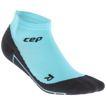 CEP Hohe SockenPastel Compression Low-Cut Socks Women blau