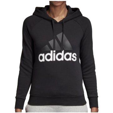 adidas PulloverEssentials Linear Over Head Fleece Hoodie Women schwarz