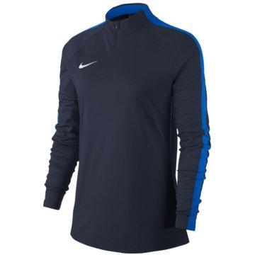 Nike LangarmshirtWOMEN'S DRY ACADEMY 18 DRILL FOOTBALL TOP - 893710-451 blau