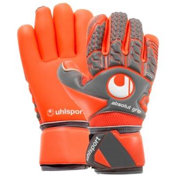 Uhlsport TorwarthandschuheAerored Absolutgrip Fingersurround orange