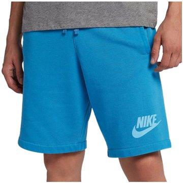 Nike Kurze HosenWashed FT Short blau