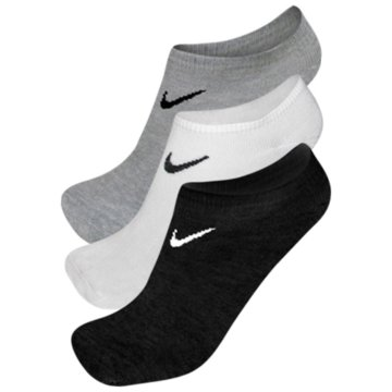 Nike Hohe Socken3PPK Value No Show grau