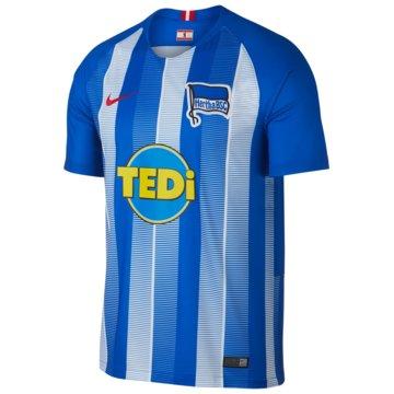 Nike HerrenHertha BSC SS Home Jersey 2018/2019 blau