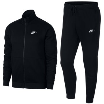 Nike TrainingsanzügeFleece Track Suit schwarz