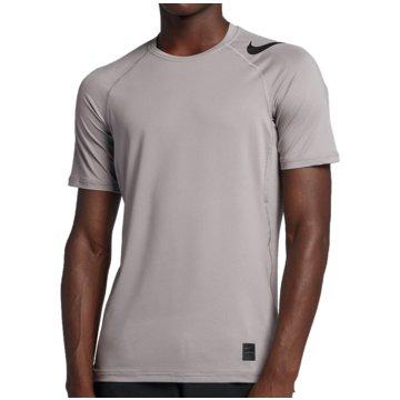 Nike HerrenPro Hypercool Fitted SS Top grau