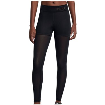 Nike DamenPro Deluxe Mesh Trainings Tight Women schwarz