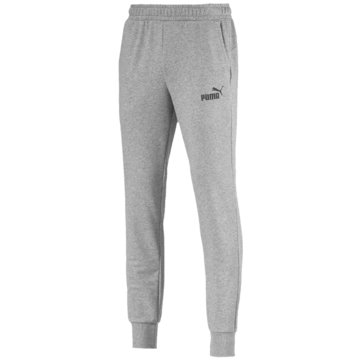 Puma Lange HosenESS Logo Pants TR cl grau