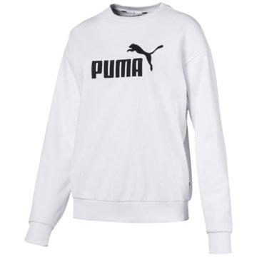 Puma Hoodies weiß
