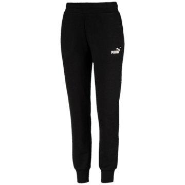 Puma Lange Hosen schwarz