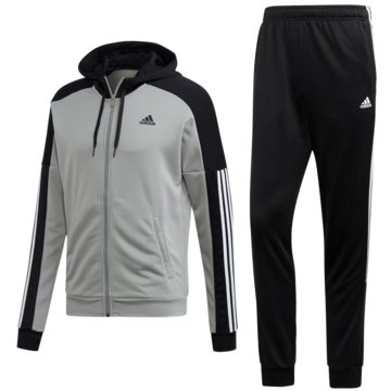 adidas TrainingsanzügeTrack Suit Game Time grau